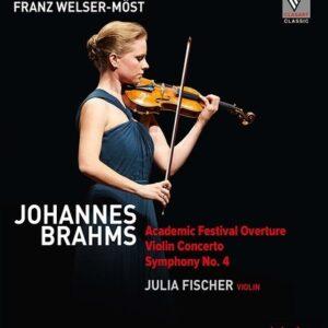 Brahms: Violin Concerto, Symphony No.4 - Julia Fischer