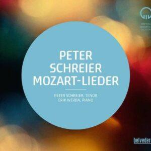 Peter Schreier Singt Mozart-Lieder -  Peter Schreier