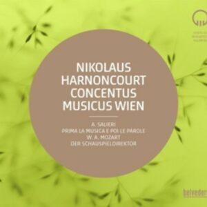 Antonio Salieri: Prima la Musica e Poi le Parole / Mozart: Der Schauspieldirektor - Nikolaus Harnoncourt