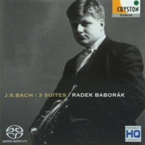 Bach: Cellosuites BWV 1007-1009 (Arr. For Horn) - Radek Baborak