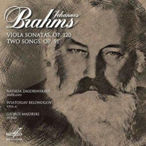 Johannes Brahms: Viola Sonatas & Two Songs - Sviatoslav Belonogov