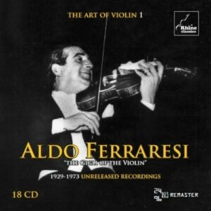The Art Of Violin 1 - Aldo Ferraresi