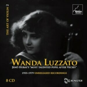 The Art Of Violin 2 - Wanda Luzzato