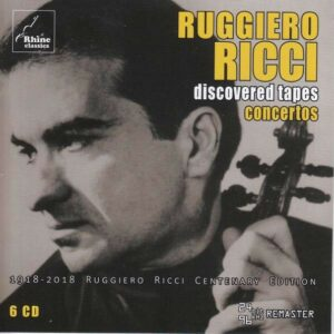 "Discovered Tapes ""Concertos"" - Ruggiero Ricci"