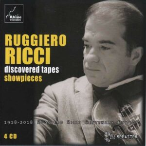 "Discovered Tapes ""Showpieces"" - Ruggiero Ricci"