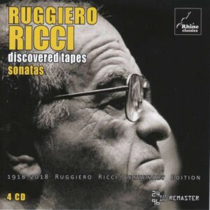 "Discovered Tapes ""Sonatas"" - Ruggiero Ricci"