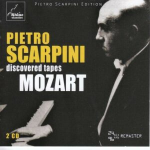 Mozart: Discovered Tapes - Pietro Scarpini