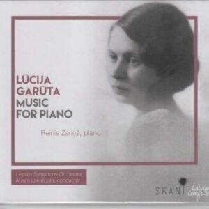Lucija Garuta: Piano Concerto -  Reinis Zarins