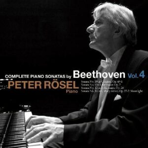 Beethoven: Complete Piano Sonatas Vol.4 - Peter Rosel