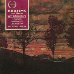 Brahms: Werke Für Klarinette & Orchester (arr.Schönberg / Berio) - James Campbell