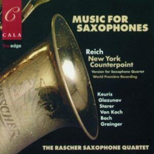 Music For Saxophones - The Rascher Saxophone Quartet
