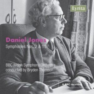Daniel Jones: Symphonies Nos. 2 & 11 - Bryden Thomson
