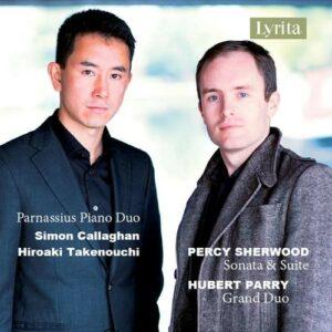 Percy Sherwood / Hubert Parry: Piano Duos - Parnassius Piano Duo