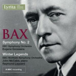 Bax: Symphony No .2, Winter Legends For Piano & Orchestra - John McCabe