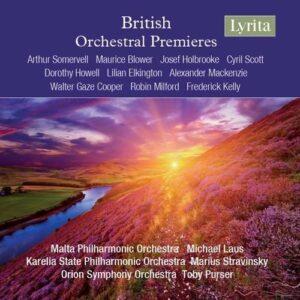 British Orchestral Premieres