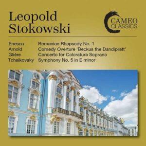 Enescu / Arnold / Gliere / Tchaikovsky - Leopold Stokowski