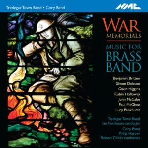 War Memorials : Musique pour ensemble de cuivres. Porthouse, Harper, Childs.