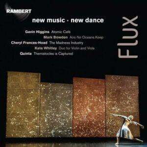 Flux : New music, new dance. Thom, Zaccardelli, Quinta, Hoskins.