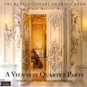 Vanhal, Mozart, Haydn, Dittersdorf : Quatuors à cordes. Russell Beale, The Revolutionary Drawing Room.