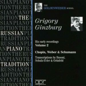 Ginzburg : His Early Recordings, Vol. 2