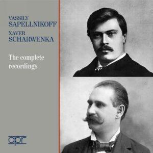 Vasily Sapelnikov & Franz Xaver Scharwenka : Intégrale des enregistrements.