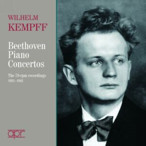 Wilhelm Kempff joue Beethoven : Concertos pour piano.