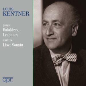 Louis Kentner joue Balakirev, Lyapunov et Liszt : Œuvres pour piano.