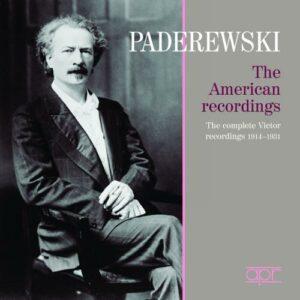 Igancy Jan Paderewski : Les Enregistrements Victor, 1914-1931.
