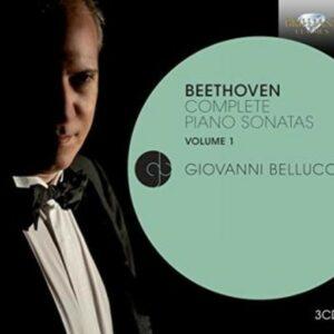 Beethoven: Complete Piano Sonatas Vol. 1 - Giovanni Bellucci