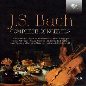 J.S. Bach: Complete Concertos - Pieter-Jan Belder / Christine Schornsheim