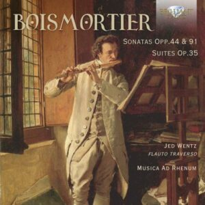 Boismortier: Sonatas Opp.44 & 91, Suites Op.35 - Musica Ad Rhenum