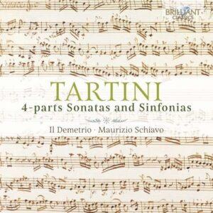Tartini: 4-Parts Sonatas And Sinfonias - Il Demetrio