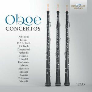 Oboe Concertos - 12CD Box Set