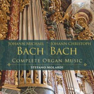 J.M. Bach /  J.C. Bach: Complete Organ Music - Stefano Molardi