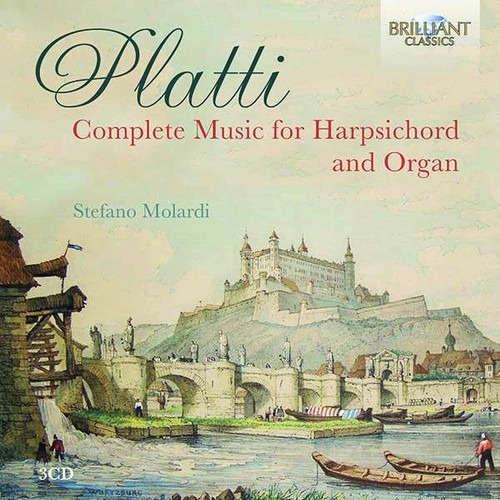 Giovanni Benedetto Platti: Complete Music For harpsichord, clavichord and organ - Stefano Molardi