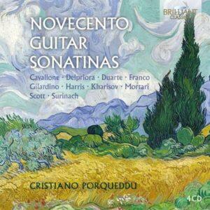 Novecento Guitar Sonatinas - Cristiano Porqueddu