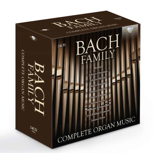 Bach Family: Complete Organ Music - Stefano Molardi
