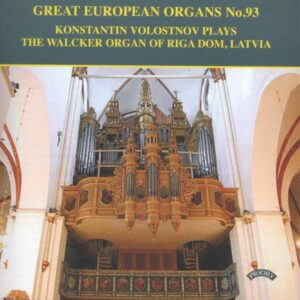 Great European Organs No. 93
