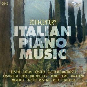 20th Century Italian Piano Music Vol.1