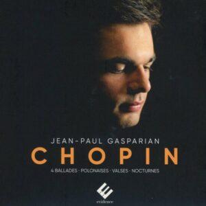 Frederic Chopin: 4 Ballades, Polonaises, Valses, Nocturnes - Jean-Paul Gasparian