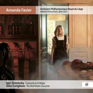 Stravinsky: Concerto In D Major / Corigliano: The Red Violin Concerto - Amanda Favier