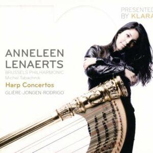 Gliere: Harp Concertos - Anneleen Lenaerts / Tabachnik