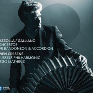 Concertos for Bandoneon and Accordeon - Gwen Cresens