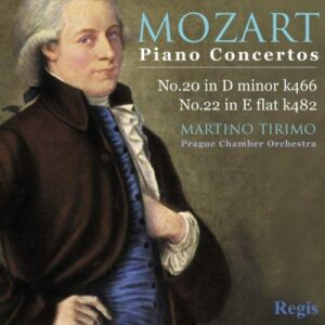 Mozart : Piano Concertos 20 (K466) , 22 (K482)
