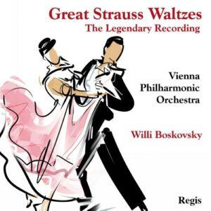 Strauss : Valses célèbres. Boskovsky.
