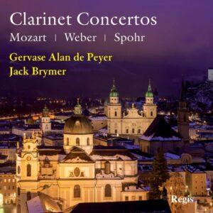 Mozart, Weber, Spohr : Concertos pour clarinette. De Peyer, Brymer, Beecham, Davis.