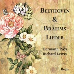 Beethoven, Brahms : Lieder. Prey, Lewis.