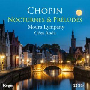 Chopin : Nocturnes et préludes. Lympani, Anda.