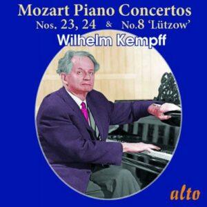 Mozart: Piano Concertos Nos. 23, 24, 8 - Wilhelm Kempff