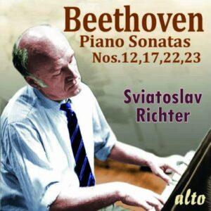 Beethoven: Piano Sonatas Nos. 12, 17, 22 & 23 - Sviatoslav Richter